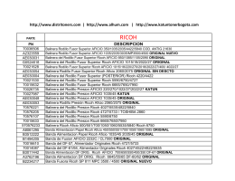 catalogo alhum 2013