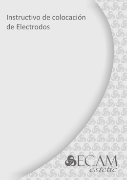 Instructivo de colocación de electrodos
