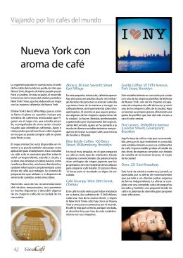 Nueva York con aroma de café