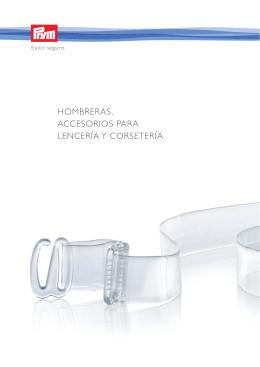 Prym_Categoria_VII_Hombreras , accesorios para lencería y