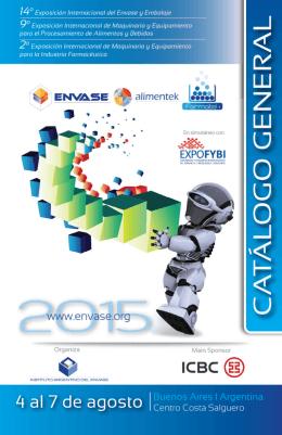 Catálogo Envase 2015