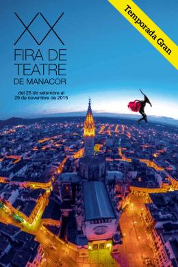 FIRA DE TEATRE - Ajuntament de Manacor