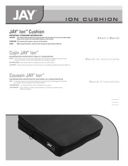 JAY® Ion™ Cushion