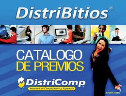 Catalogo Distribitios