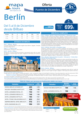 Berlín - Viajes Navarsol