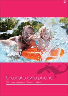 Locations avec piscine - Office de tourisme de Sarlat