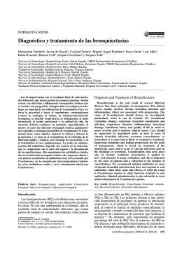 SEPAR-Bronquiectasias