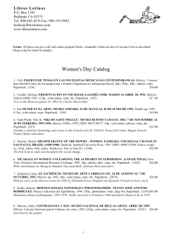 Women`s Day Catalog