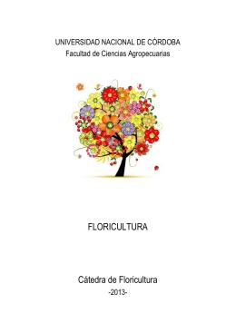 Apunte de Floricultura - Facultad de Ciencias Agropecuarias