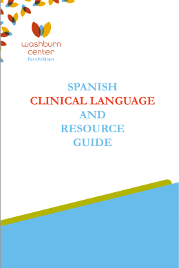 spanish clinical language and resource guide