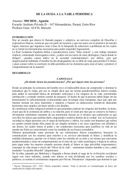 MICHOU, Agustín Emanuel