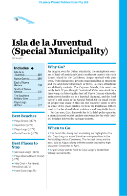 Isla de la Juventud (Special Municipality)