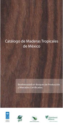 Catálogo de Maderas Tropicales de México