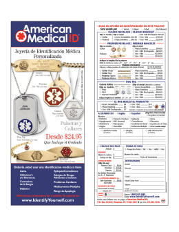 Desde $24.95 - American Medical ID