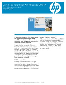 Cartucho de Tóner Smart Print HP LaserJet Q7516A