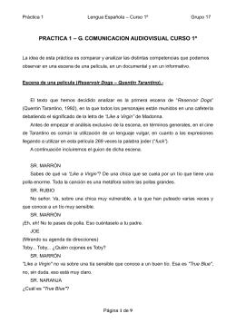 PRACTICA 1 – G. COMUNICACION AUDIOVISUAL CURSO 1º