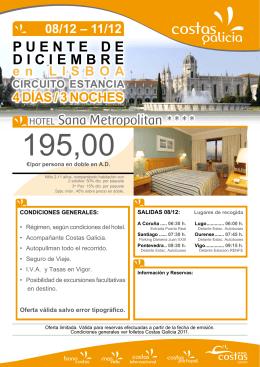 hotel Sana Metropolitan * * * * PUenTe De