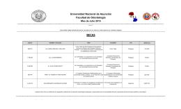 Universidad Nacional de Asunción Facultad de Odontología