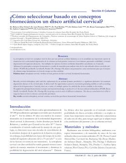 ¿Cómo seleccionar basado en conceptos biomecánicos un