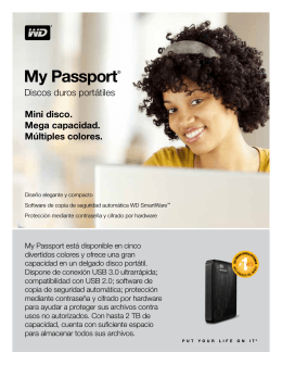My Passport® Portable Hard Drives - Product