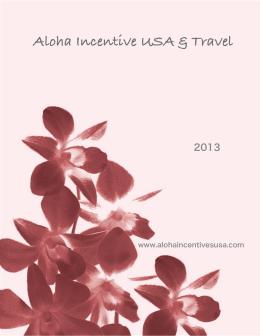 itinerario 01 - Aloha :: Incentive USA & Travel