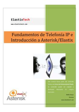 Fundamentos de Telefonía IP e Introducción a Asterisk/Elastix