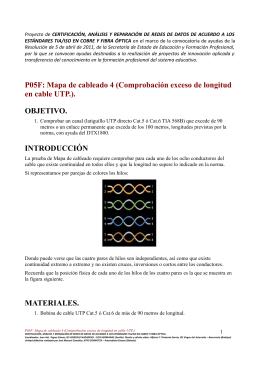 P05F: Mapa de cableado 4 (Comprobación exceso de longitud en