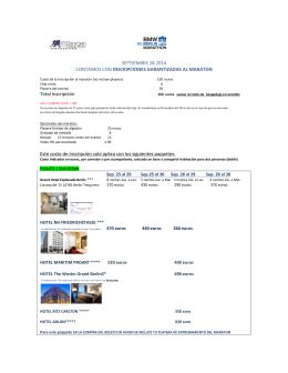 Itinerario opcional con extensión a Praga