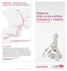 francia por la vía rápida horarios y tarifas - Voyages-sncf