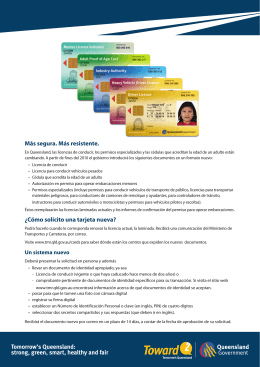 Spanish licences factsheet