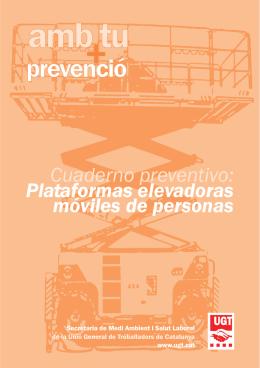 Cuaderno preventivo: Plataformas elevadoras