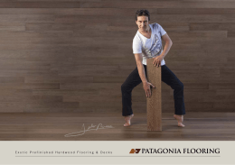 catalogue - PATAGONIA Flooring