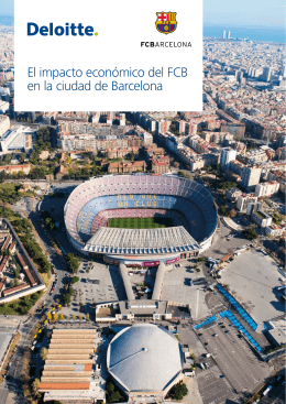 El impacto económico del FCB en la ciudad de Barcelona