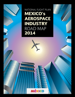 MEXICO`s AEROSPACE INDUSTRY ROAD MAP 2014