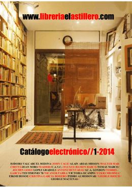 www.libreriaelastillero.com Catálogoelectrónico//1-2014