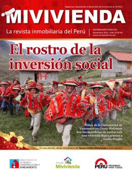 El rostro de la inversión social El rostro de la inversión social
