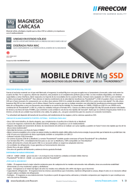 MOBILE DRIVE Mg SSD