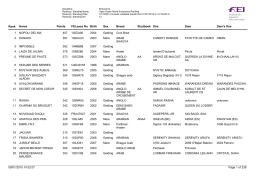 Ranking_Endurance_Horses_Jinetes senior_31dic2014