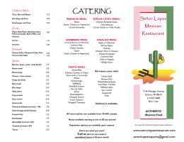 CATERING - Señor López Mexican Restaurant