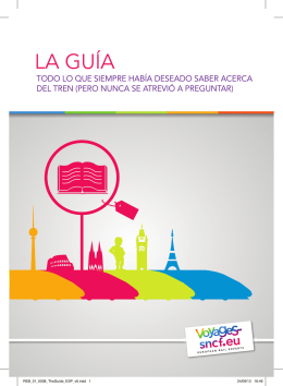 THE GUIDE_ES - Voyages-sncf