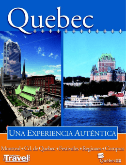 Especial Quebec