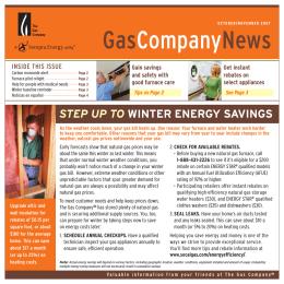GasCompanyNews
