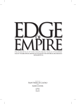 "proceedings of the symposium ""edge of empire"""