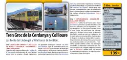 Tren Groc de la Cerdanya y Collioure