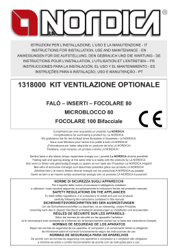 1318000 KIT VENTILAZIONE OPTIONALE