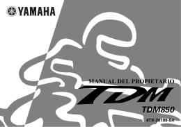 TDM850 - MOTOAMICS