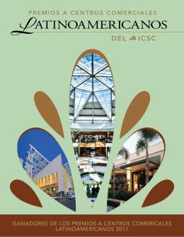 ganadores de los premios a centros comericales latinoamericanos