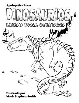 Libro de dinosaurios para colorear