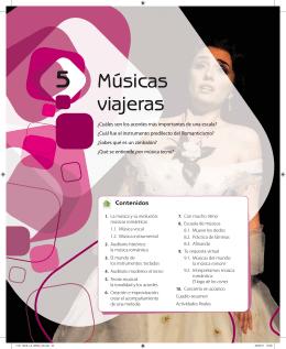 5 Músicas viajeras