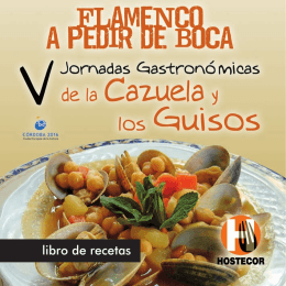 libro de recetas - Turismo de Córdoba
